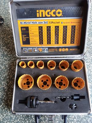 Ingco Bi-metal Hole Saw Set With Case-akh0121 | Electrical Hand Tools for sale in Greater Accra, Tema Metropolitan