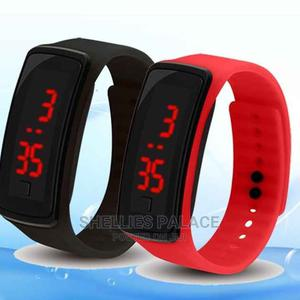 Stylish Led Smart Watch Sports Waterproof Dustproof | Smart Watches & Trackers for sale in Greater Accra, Dome