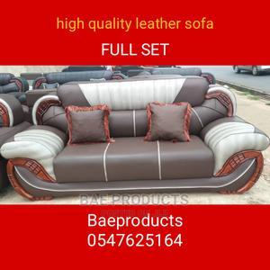Quality Leather Sofa Set   Furniture for sale in Ashanti, Kumasi Metropolitan