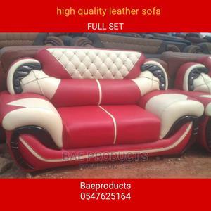 Full Set of Leather Sofa Chairs   Furniture for sale in Ashanti, Kumasi Metropolitan