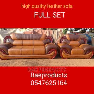 Leather Sofa Fill Set   Furniture for sale in Ashanti, Kumasi Metropolitan