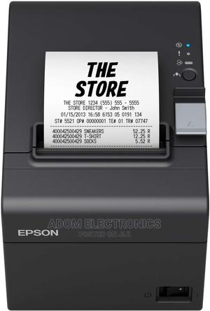 Epson Tm-T20iii Thermal Pos Receipt Printer | Store Equipment for sale in Greater Accra, Adabraka