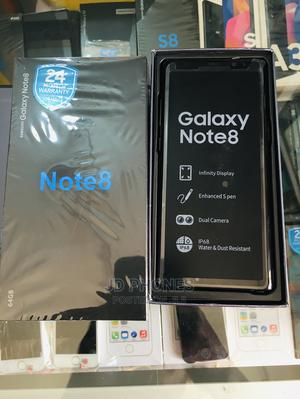New Samsung Galaxy Note 8 64 GB Black | Mobile Phones for sale in Greater Accra, Kokomlemle