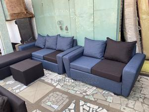 Lovely L Shaped Sofa Wid 2in1 | Furniture for sale in Greater Accra, Abossey Okai
