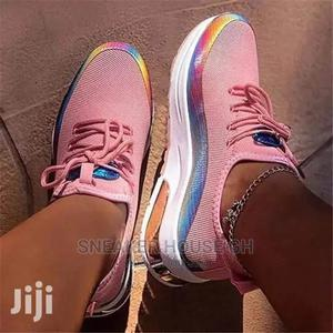 Ladies Colourful Laced Sneakers | Shoes for sale in Greater Accra, Accra Metropolitan