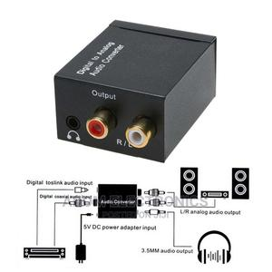 Audio Converter Digital to Analog | Accessories & Supplies for Electronics for sale in Greater Accra, Adabraka