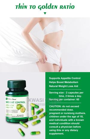 Weight Control Slim Plus Capsules | Vitamins & Supplements for sale in Greater Accra, East Legon
