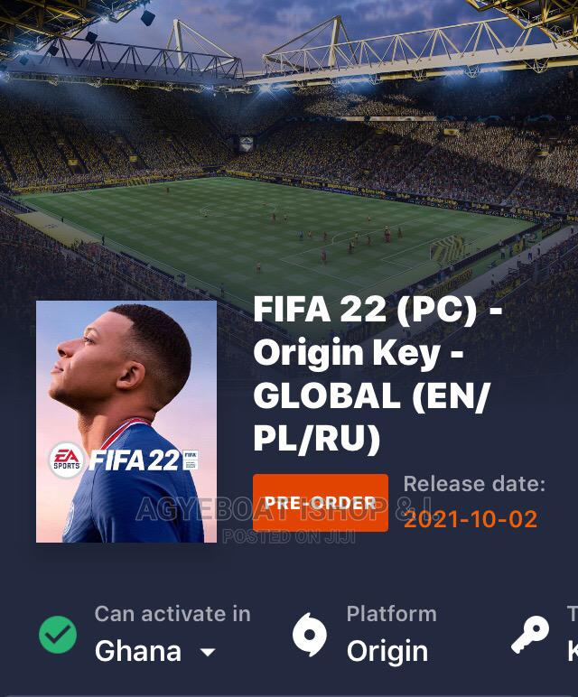 Fifa22 Pre-Order Now | Video Games for sale in Wenchi Municipal, Brong Ahafo, Ghana