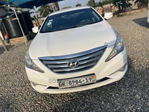 Hyundai Sonata 2012 White | Cars for sale in Greater Accra, Ashomang Estate