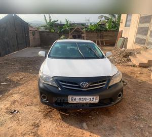Toyota Corolla 2013 White   Cars for sale in Greater Accra, Dansoman