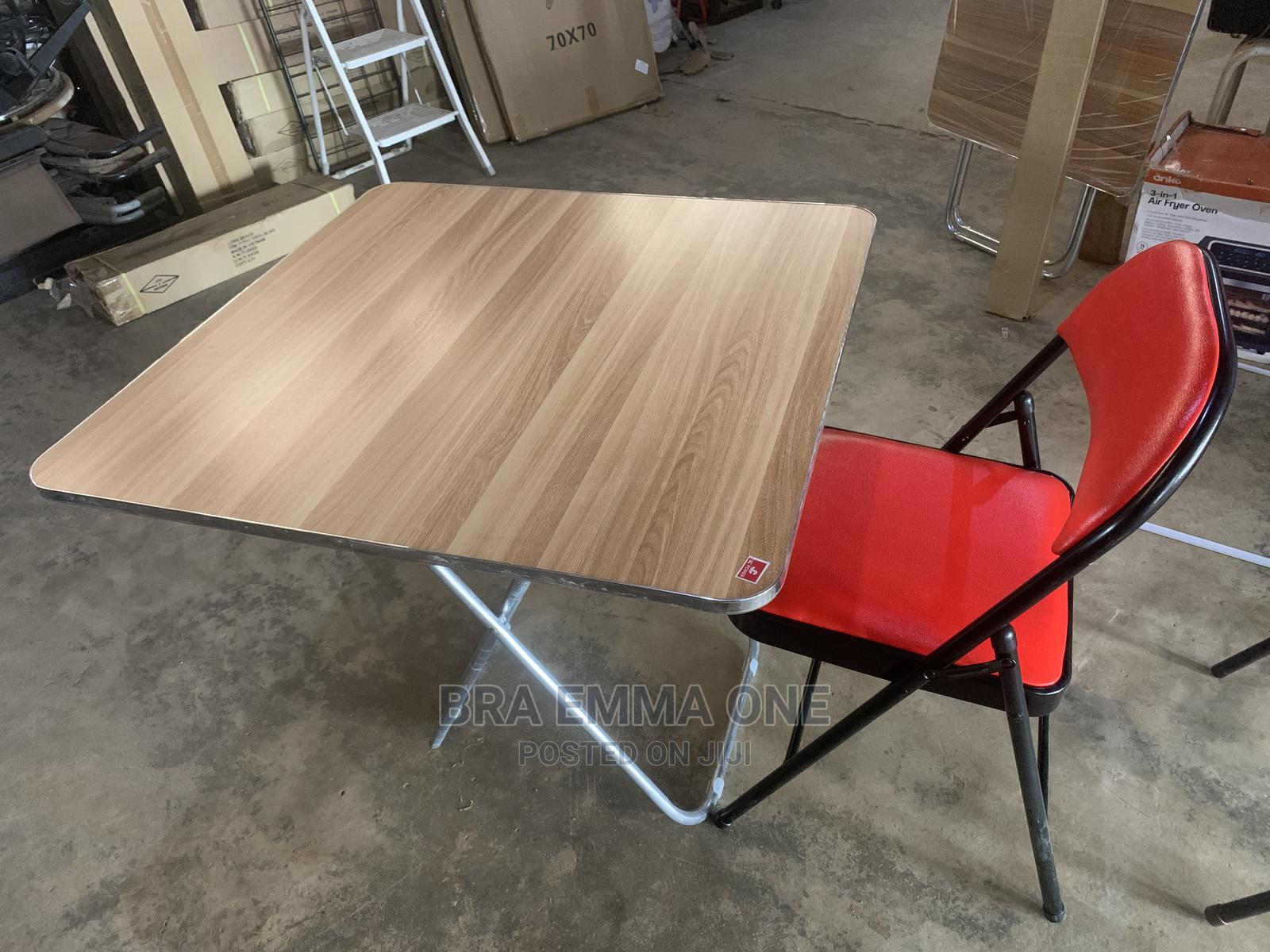 Foldable Table And