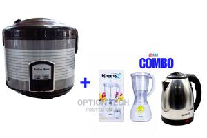 Rice Cooker + Free Blender and Kettle | Kitchen Appliances for sale in Greater Accra, Nungua