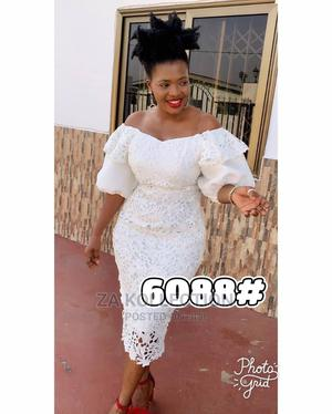 Ladies White Lace Dress | Clothing for sale in Greater Accra, Accra Metropolitan