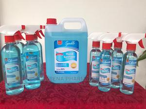 Sparkle Hand Sanitizer (80% Alcohol) 4.5 Litres | Skin Care for sale in Greater Accra, Adenta
