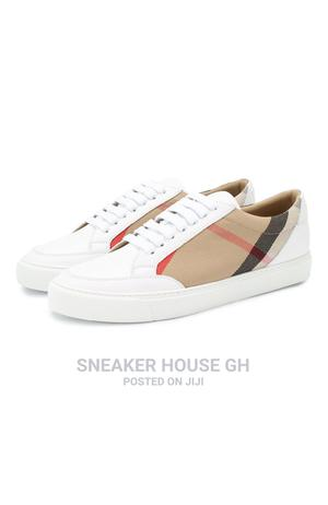 Burberry White Sneaker | Shoes for sale in Greater Accra, Accra Metropolitan