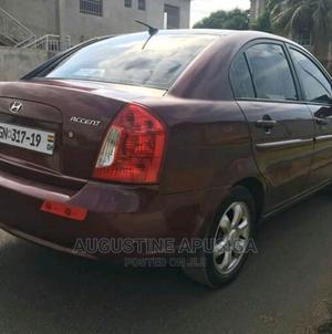 Hyundai Accent 2007 1.6 Red   Cars for sale in Volta Region, Krachi East