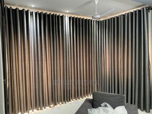 Gray Long Curtain   Home Accessories for sale in Greater Accra, Accra Metropolitan