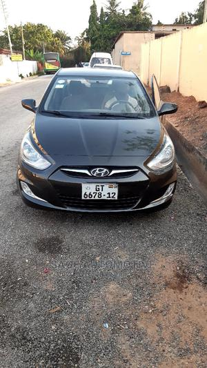 Hyundai Accent 2012 GLS Brown   Cars for sale in Greater Accra, Airport Residential Area