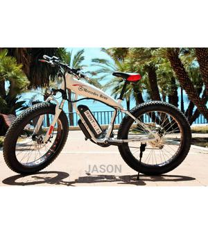Electric Mercedes Benz Bicycle   Sports Equipment for sale in Greater Accra, Adenta