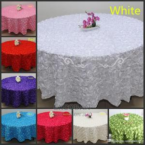 Table Cloths Round Rosette for Rent | Party, Catering & Event Services for sale in Greater Accra, Accra Metropolitan
