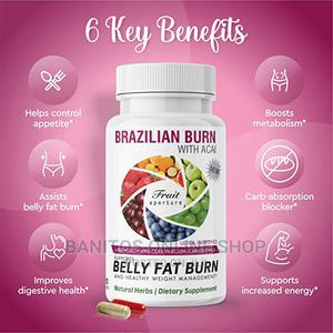 Brazilian Belly Fat Burn-120 Caps   Vitamins & Supplements for sale in Greater Accra, East Legon