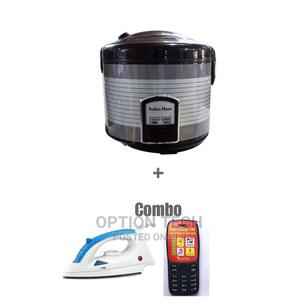 Rice Cooker and Iron and Phone | Kitchen Appliances for sale in Greater Accra, Nungua