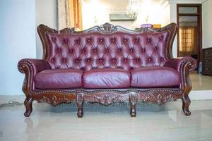 Beautiful Leather Sofa Set   Furniture for sale in Greater Accra, Accra Metropolitan
