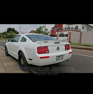Ford Mustang 2008 Deluxe Coupe White | Cars for sale in Greater Accra, Tesano