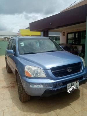 Honda Pilot 2005 EX-L 4x4 (3.5L 6cyl 5A) Blue   Cars for sale in Greater Accra, North Industrial Area