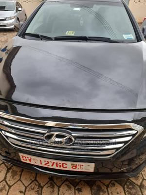 Hyundai Sonata 2016 Black   Cars for sale in Greater Accra, Agbogba