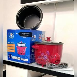 Hot Chef Rice Cooker With Two Rice Bowls | Kitchen Appliances for sale in Greater Accra, Kaneshie