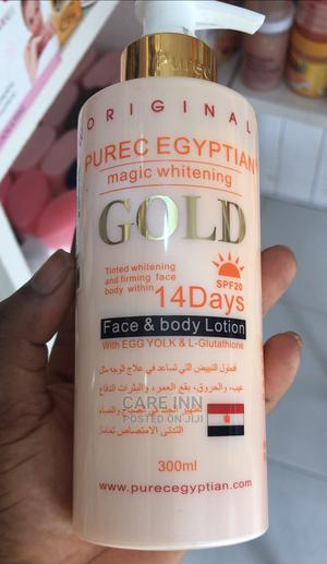 Purec Egyptians Magic Whitening Gold Lotion | Skin Care for sale in Greater Accra, Labone
