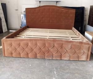 Stuffing Queen Bed Available   Furniture for sale in Greater Accra, Kokomlemle