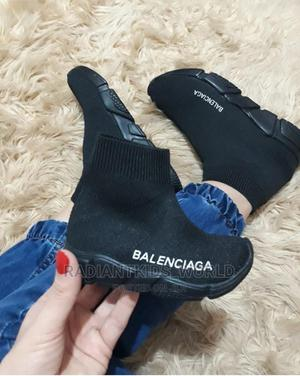 Balenciaga Black Unisex Sneakers | Children's Clothing for sale in Greater Accra, Dome