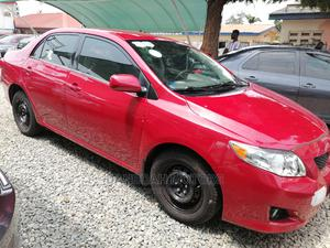 Toyota Corolla 2010 Red   Cars for sale in Greater Accra, Abelemkpe