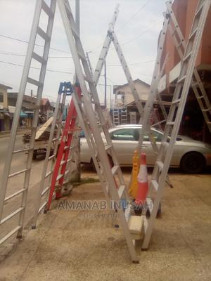 7 Steps Fiber Glass Ladder | Hand Tools for sale in Greater Accra, Pokuase