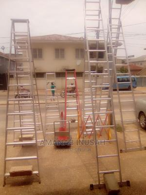 16 Feet Foldable Aluminum Ladder | Hand Tools for sale in Greater Accra, Pokuase