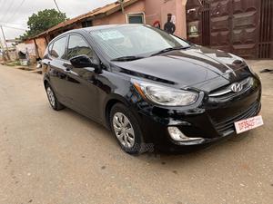 Hyundai Accent 2017 SE Hatchback Black   Cars for sale in Greater Accra, Darkuman