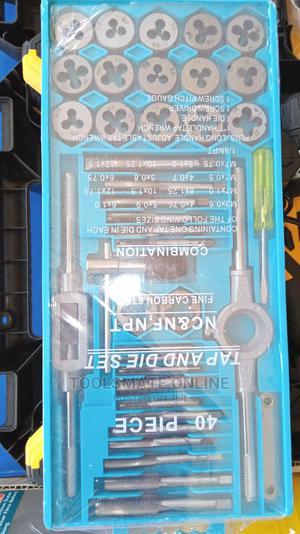 40pcs Metric Alloy Steel Tap Die Set M3 - M12 Tools Set | Hand Tools for sale in Greater Accra, Tema Metropolitan