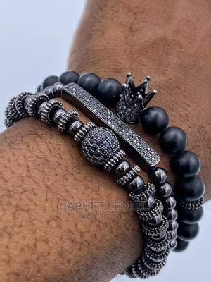 Stainless Black Bracelet   Jewelry for sale in Greater Accra, Osu