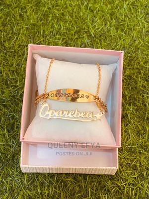 Chain Bracelet With Chain Necklace | Jewelry for sale in Greater Accra, Ga West Municipal
