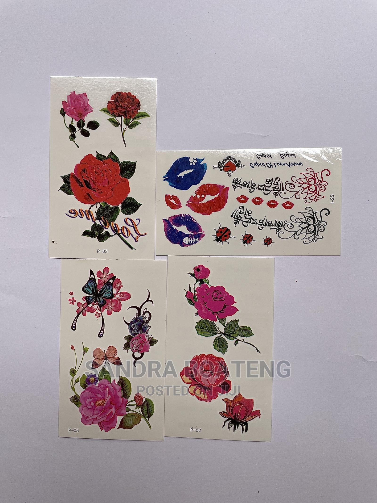 Archive: Temporary Tattoo Stickers