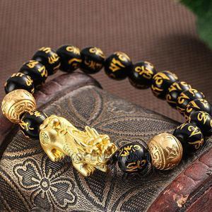 Black Obsidian Wealth Bracelet(Buddha Power Type)   Jewelry for sale in Greater Accra, Abokobi