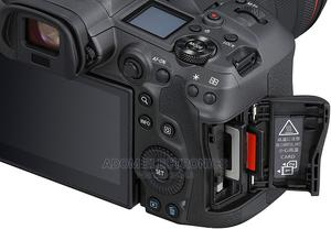It Comes With Dual Memory Card Slot Canon Eos R5 Camera | Photo & Video Cameras for sale in Greater Accra, Adabraka
