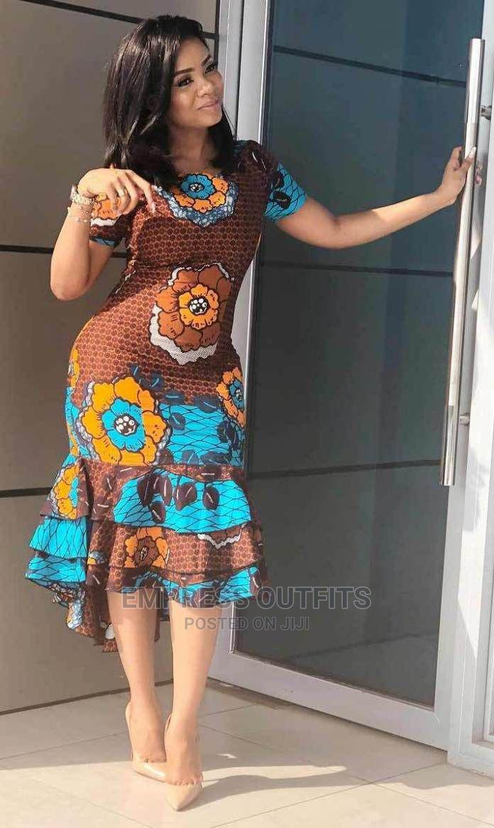 Ladies African Dress