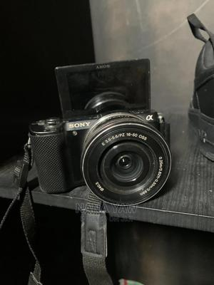 Used, Sony Alpha A5000 Mirrorless Digital Camera 16-50mm Oss   Photo & Video Cameras for sale in Greater Accra, East Legon