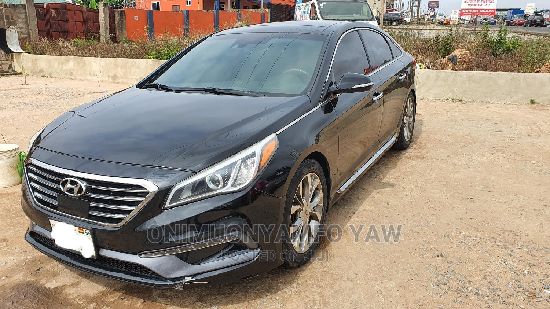 Hyundai Sonata 2015 Black   Cars for sale in Achimota, Greater Accra, Ghana
