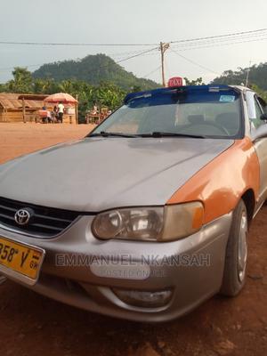 Toyota Corolla 2002 1.8 Sedan Automatic Silver   Cars for sale in Eastern Region, Kwahu East