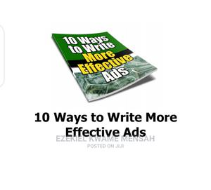 Ten Effective Ways of Advertising | Books & Games for sale in Central Region, Assin North Municipal