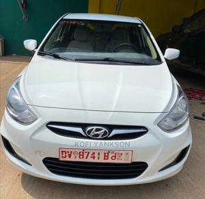 Hyundai Accent 2014 White   Cars for sale in Greater Accra, Achimota